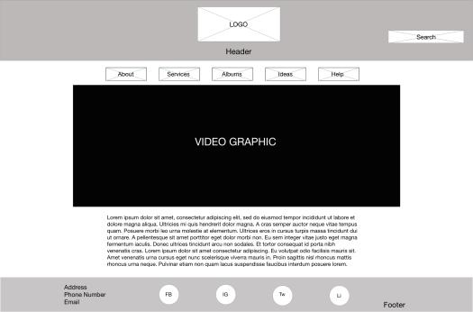 Home page - Desktop